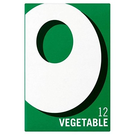 Oxo 12 Vegetable Stock Cubes - 71g - Pack of 2 (71g x