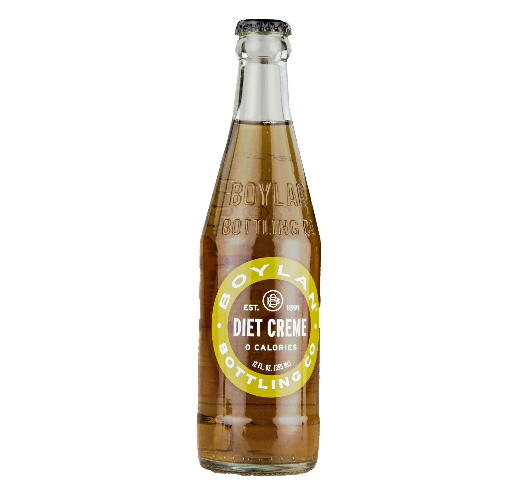Boylan Bottling Boylan Diet Cream Soda 12 oz. (24 Bottles)
