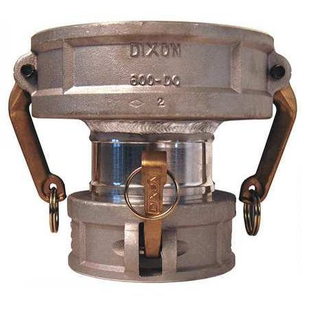 DIXON VALVE & COUPLING 3040-DD-AL Spool Coupler,3 x 4 In,100