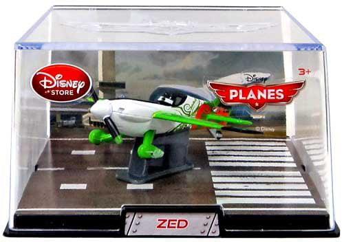 Disney   Pixar Exclusive 1:43 Die Cast Plane In Plastic Case Zed, Finely detailed die cast metal By Planes by