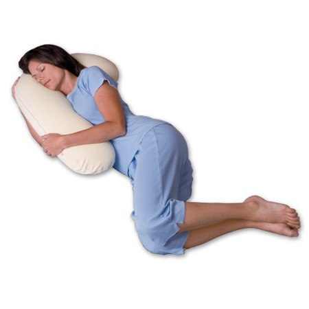 Snoozer Body Pillow Snuggle Buddy 500 Thread Count