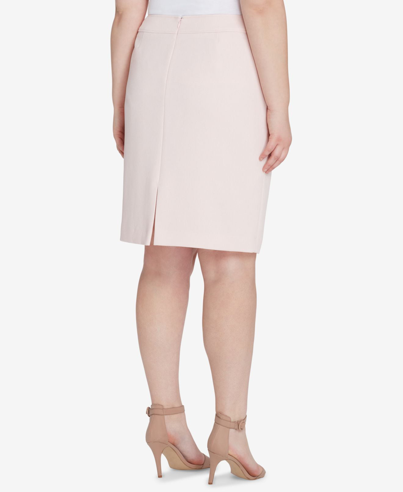 0fe9cb6fa1 Light Grey Pencil Skirt | Saddha