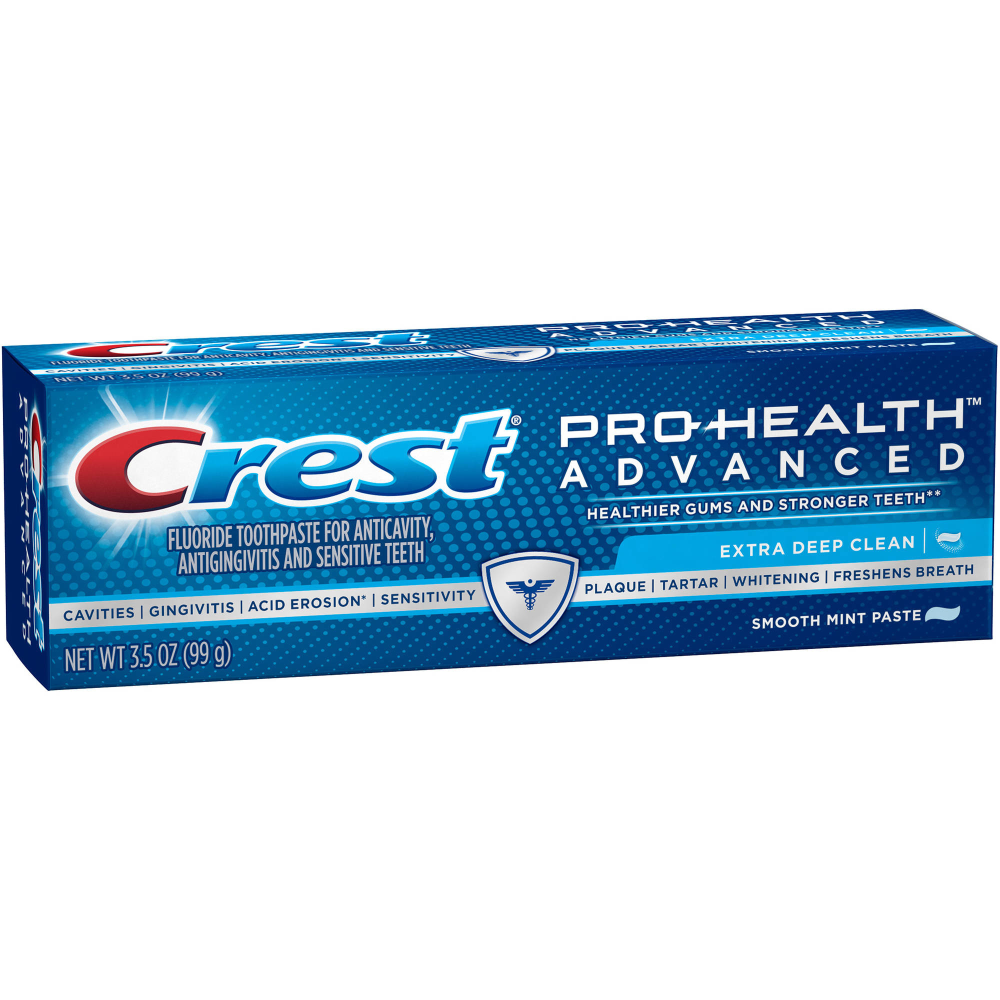 Crest Pro-Health Advanced Extra Deep Clean Smooth Mint Paste Toothpaste, 3.5 oz