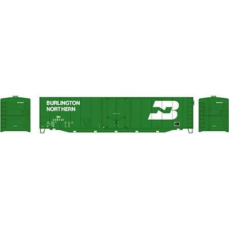 Ho 50 Plug Door (Athearn 81456 HO Burlington Northern 50' Plug Door Box #329421 )