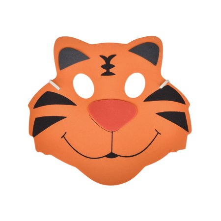New Halloween Costume Party Foam Zoo Animal Tiger Mask](Zone News Halloween)