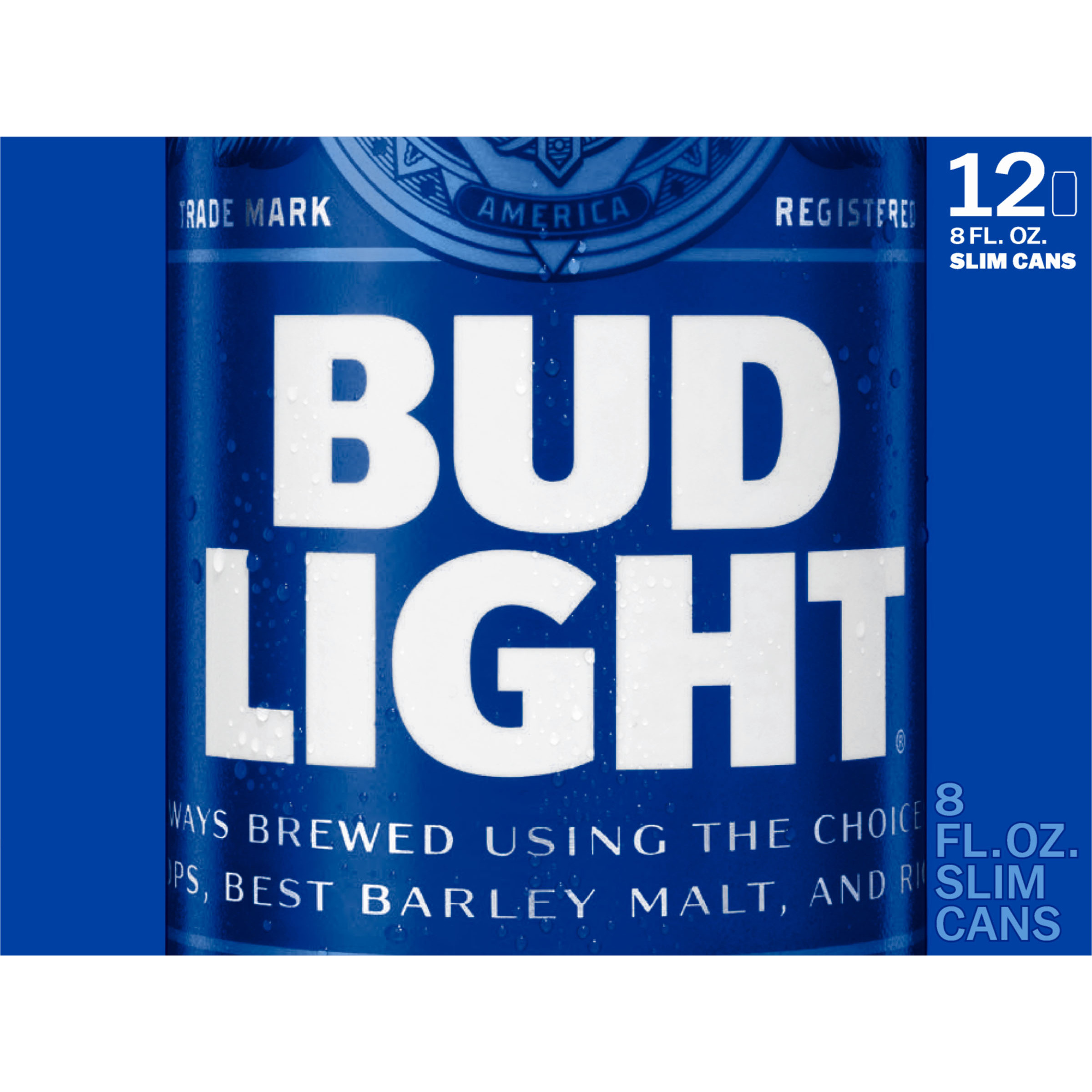 Bud Light Beer 12 8 Fl. Oz. Cans   Walmart.com