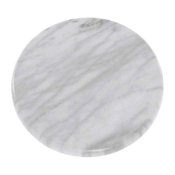 Norpro Kitchen Restaurant Revolving 12 Inch Diameter Marble Lazy Susan White Walmart Com Walmart Com