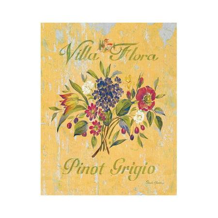 Pinot Grigio Artistree Print Wall Art By Pamela