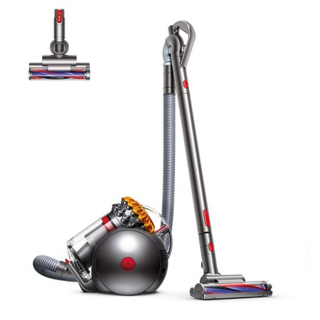 Dyson Big Ball Multi Floor Canister Vacuum | Yellow/Iron | New](dyson digital slim cheapest price)