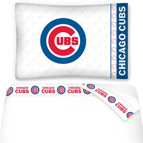 Sports Coverage Inc. Chicago Cubs Micro Fiber Sheet Set