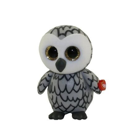 TY Beanie Boos - Mini Boo Figures Series 2 - OWLETTE the Grey Owl (2 (Grad Owl)