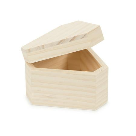 Decorative Wooden Box: Triangle, 4.3 x 3 inches