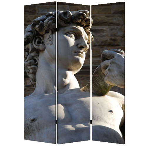 Screen Gems 72'' X 48'' Rome 3 Panel Room Divider
