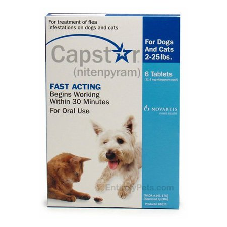 Capstar Flea Treatment Dog Flea Amp Tick Care Walmart Com