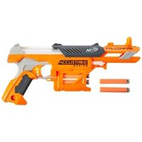 Nerf FalconFire AccuStrike Elite Blaster with 6 Nerf Darts & Storage