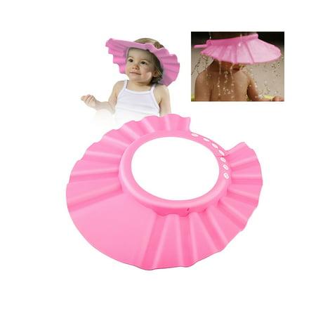 Shampoo Cap Shower Bath Baby Child Kid Adult Free Size Hat Hair Wash Accessories Bathing Accessories