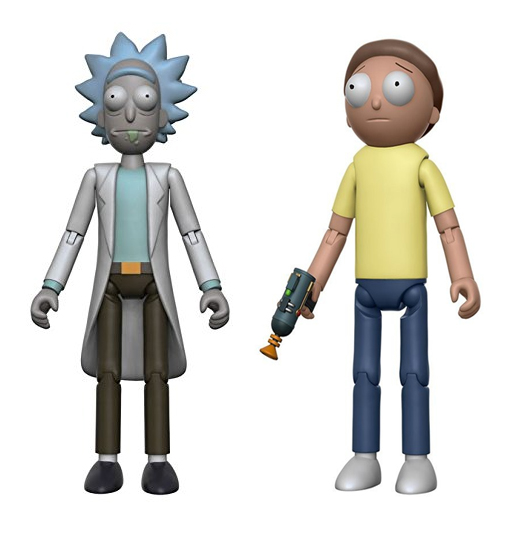 "Rick and Morty Funko 5"" Action Figure Bundle: Rick & Morty"