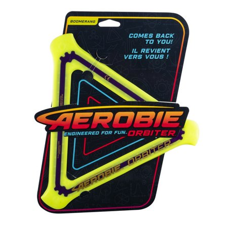 Aerobie Orbiter Boomerang , Soft Rubber Edged Flying Disc (colours and styles may vary) - image 2 of 3