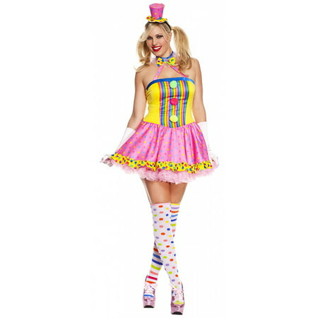 Circus Cutie Adult Costume - Plus Size 1X/2X - Circus Themed Costumes