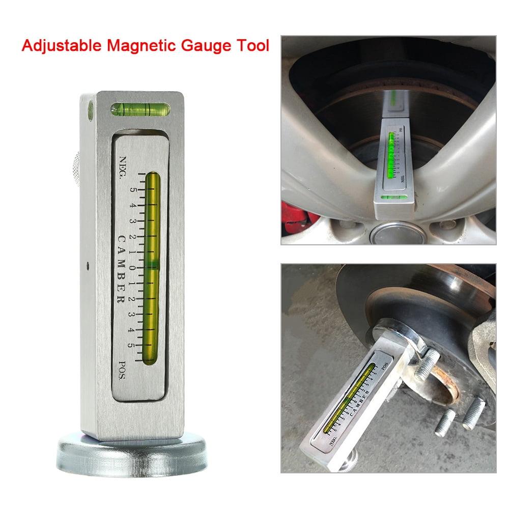 Adjustable Magnetic Gauge Tool Camber Castor Strut Car Tools Truck M3J0