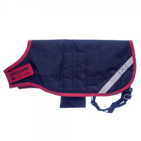 Horseware Goat Coat - Size:Large Color:Navy/Red Horseware Corrib Jacket