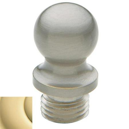 Ball Finial for Square Corner, Non Lacquered Brass - Set of 2 - image 1 de 1