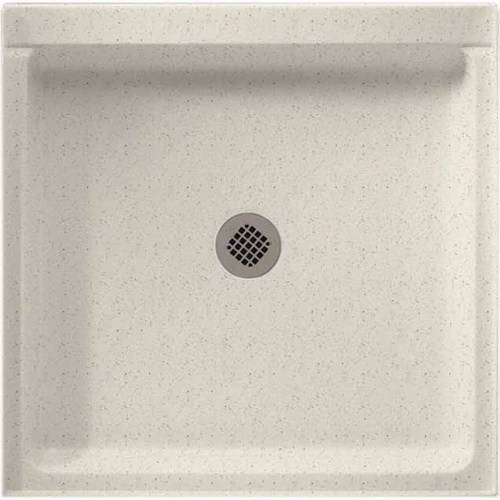 """Swan SS-4236-010 42"""" x 36"""" Swanstone Shower Base (Drain Included), Available in Various Colors"""