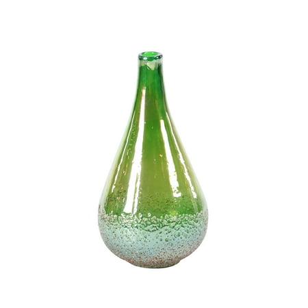 Decmode Modern 13 X 7 Inch Green Teardrop-Shaped Glass (Modern Seven Light)