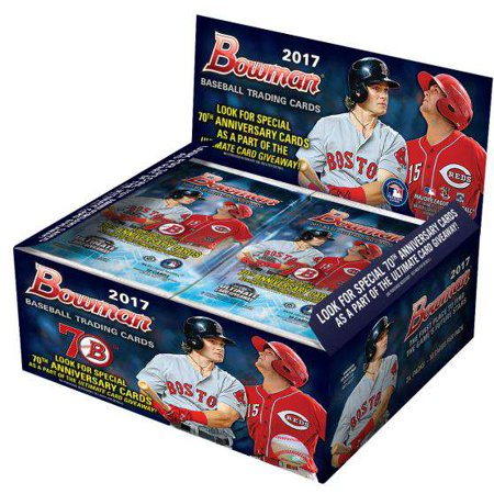 Mlb 2017 Bowman Baseball Cards Trading Card Retail Box 24 Packs