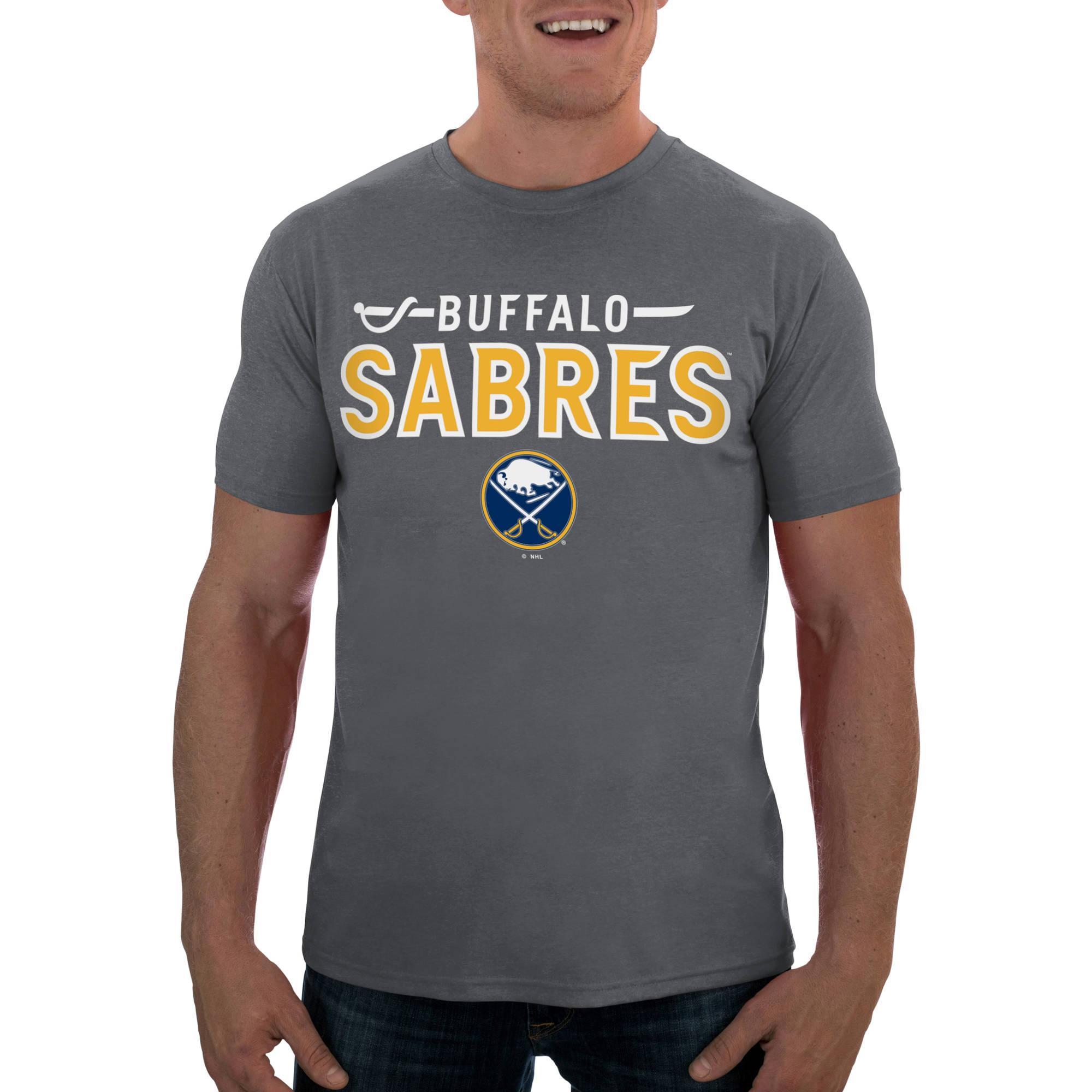 NHL Buffalo Sabres Men's Short Sleeve Impact Tee