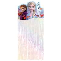 Frozen 2 Fringe Door Curtain, 5.5ft Tall