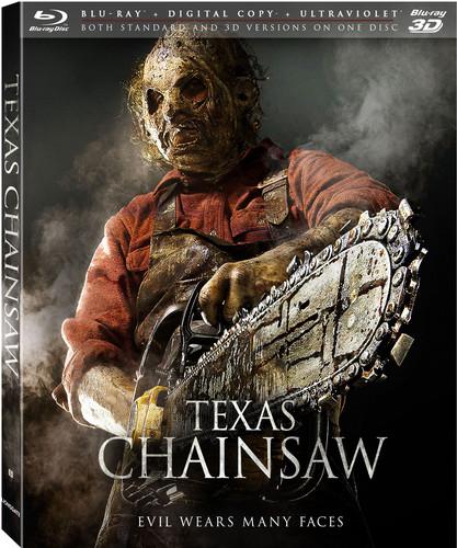 Texas Chainsaw (3D Blu-ray + Blu-ray + Digital Copy)