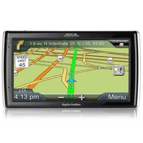 "Magellan RoadMate 9200-LM 7"" Car Navigation GPS System Windsheild Mountable"
