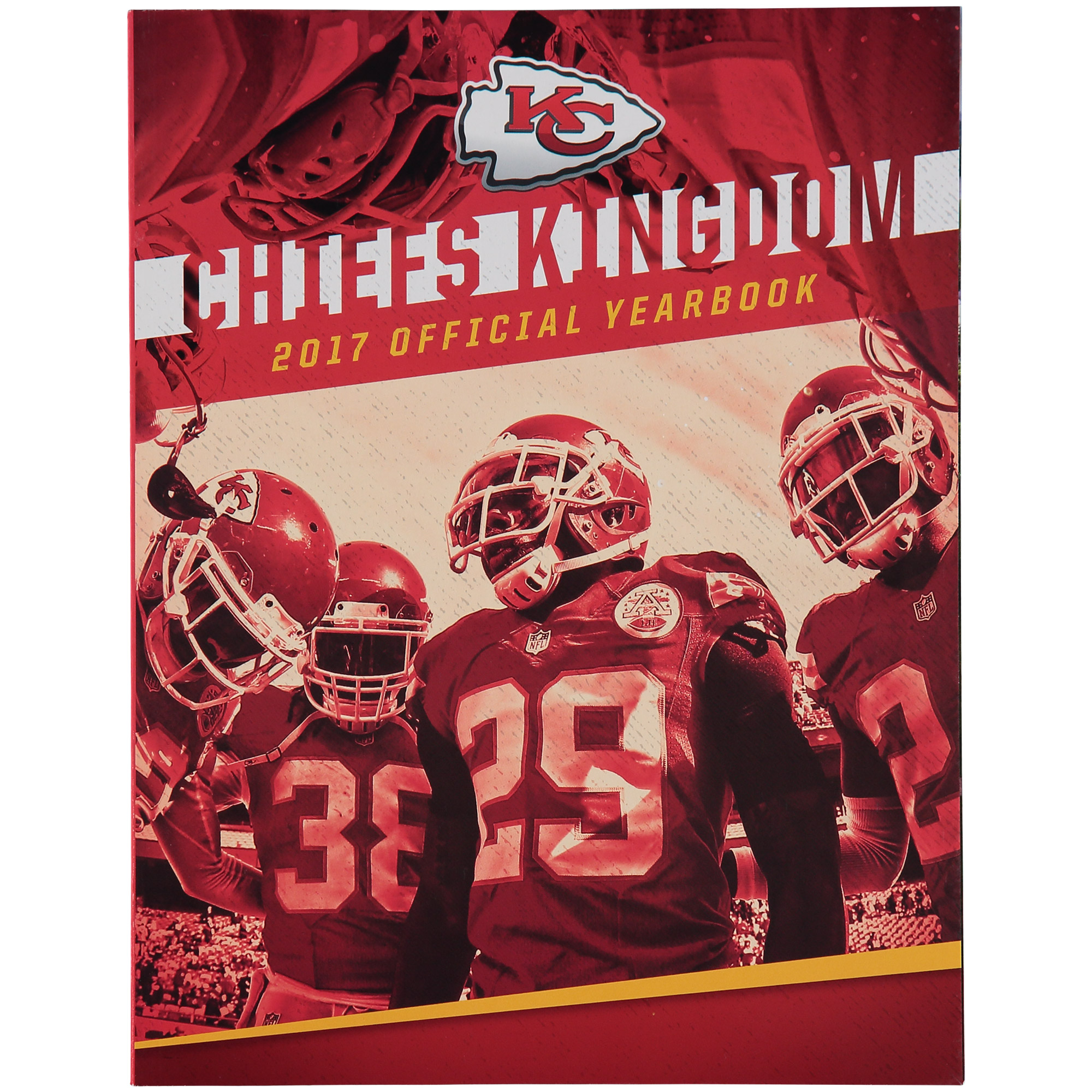 2017 Kansas City Chiefs Yearbook - No Size