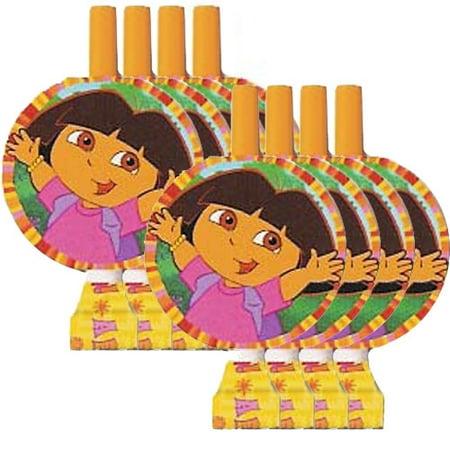 Dora Party Favors (Dora the Explorer 'Fiesta' Blowouts / Favors)