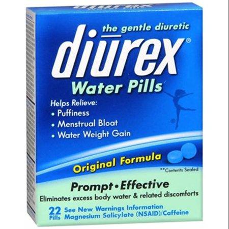 DIUREX pilules d'eau 22 Chaque (pack de 6)
