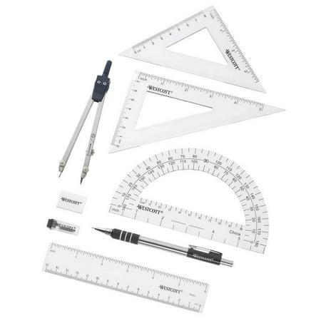 Westcott 8 Piece Math Set