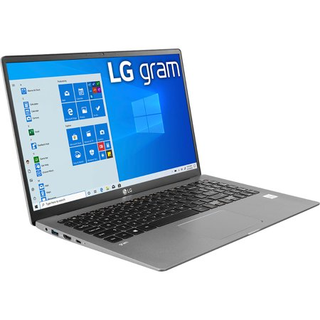 LG gram 15 inch Ultra-Lightweight Laptop with 10th Gen Intel Core Processor w/Intel Iris Plus - 15Z90N-R.AAS7U1
