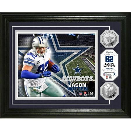 premium selection a6898 04ff7 Jason Witten Silver Coin Photo Mint