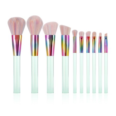 Docolor Makeup Brushes Sets Valentine Gift Foundation Eyebrow Blending Blush Brush Professional New Midsummer Night Dream kit,  10