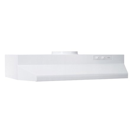 Broan 42W in. Round Vented Under Cabinet Range (Range Hood Vent)