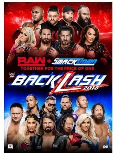 WWE: Backlash 2018 (DVD) by WARNER HOME VIDEO