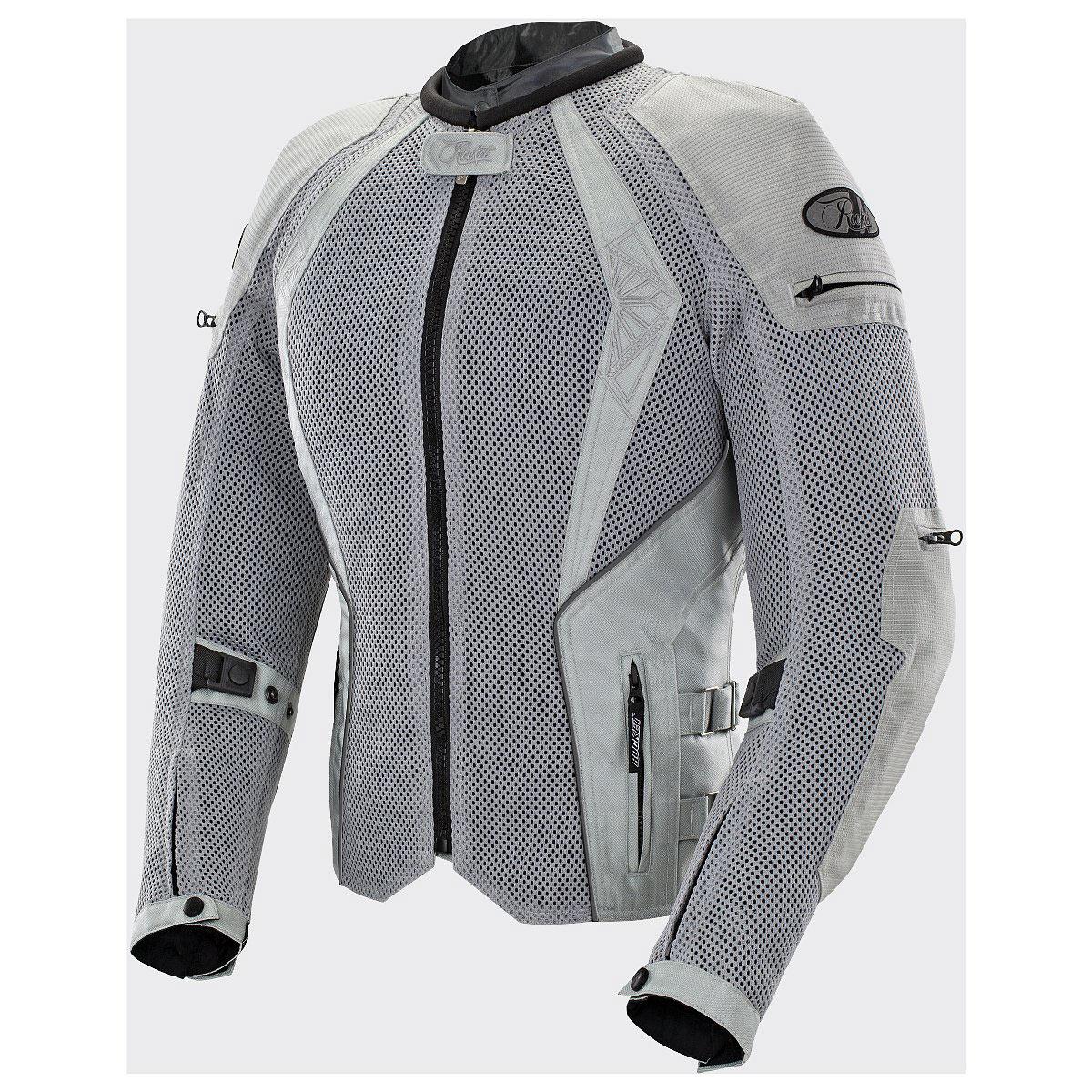 Joe Rocket Cleo Elite Womens Silver Mesh Jacket