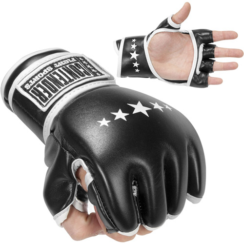 Combat Sports MMA Synthetic Hybrid Training Gloves by Combat Brands LLC