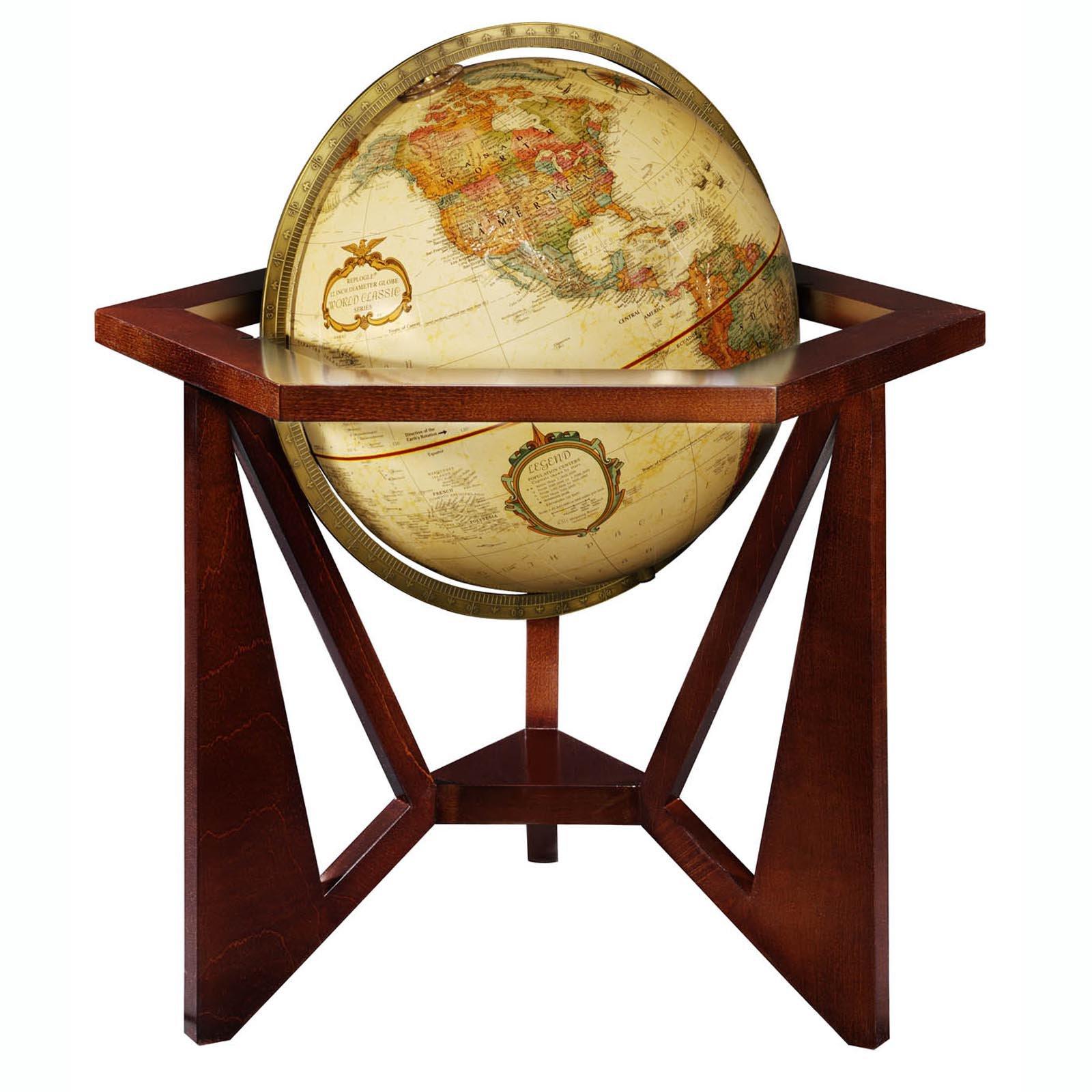 Frank Lloyd Wright® San Marcos 12-in. Diam. Tabletop Globe