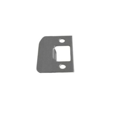 Polished Brass Strike Plate - Baldwin 5510.FSTR 1.625