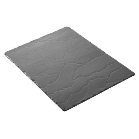 15.75 Inch Tray - Revol Basalt Collection Slate 15.75 x 9.75 Inch Rectangular Serving Tray