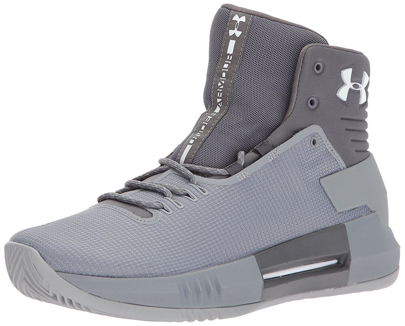 406f8eddf54a promo code for under armour ua drive 4tb steel graphite white basketball  shoes men us 4