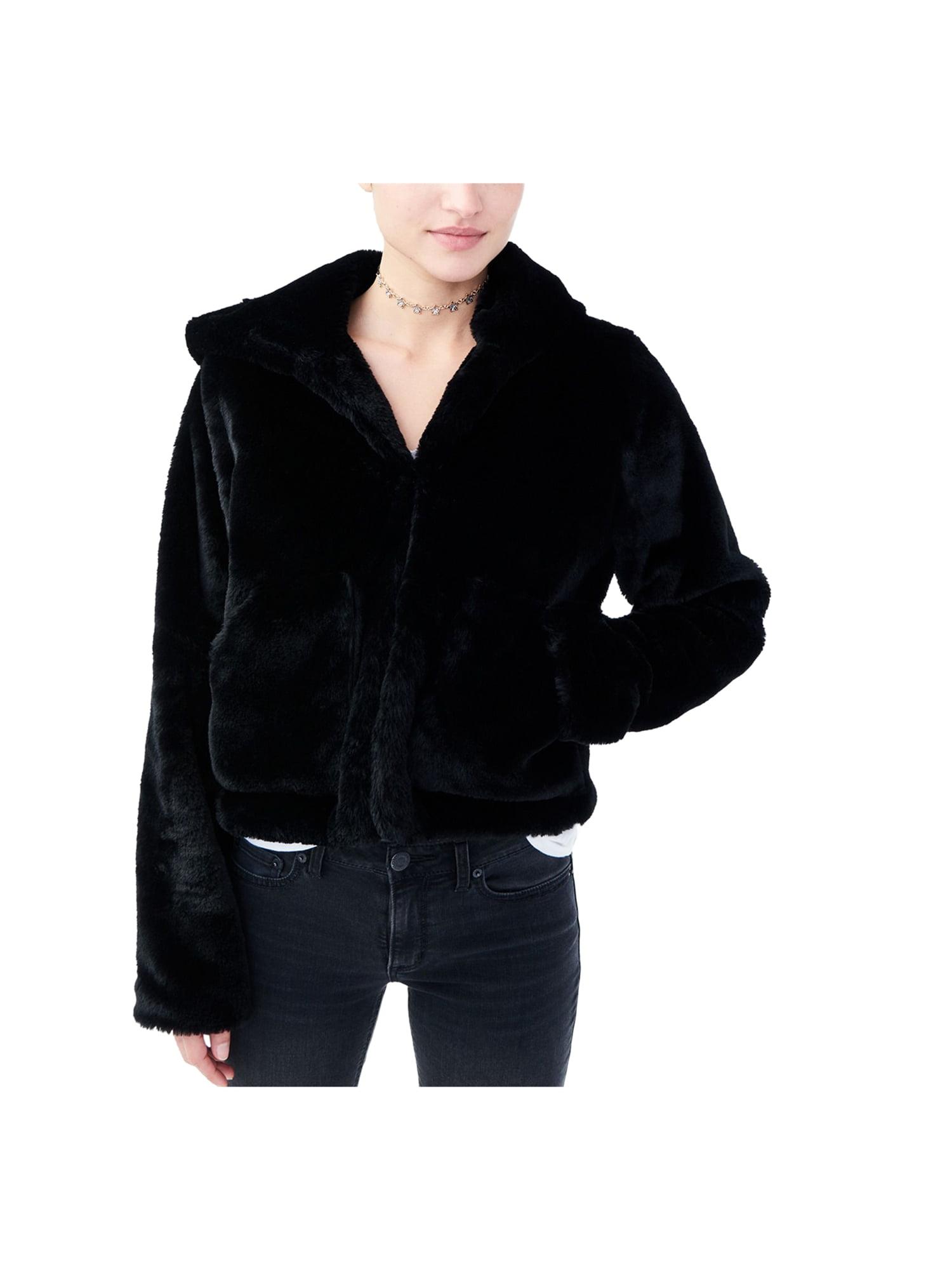 Aeropostale Juniors Faux Fur Jacket
