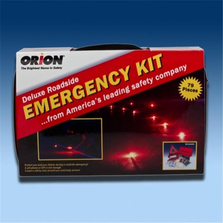 - Orion Safety Products Deluxe Roadside Emergency Kit